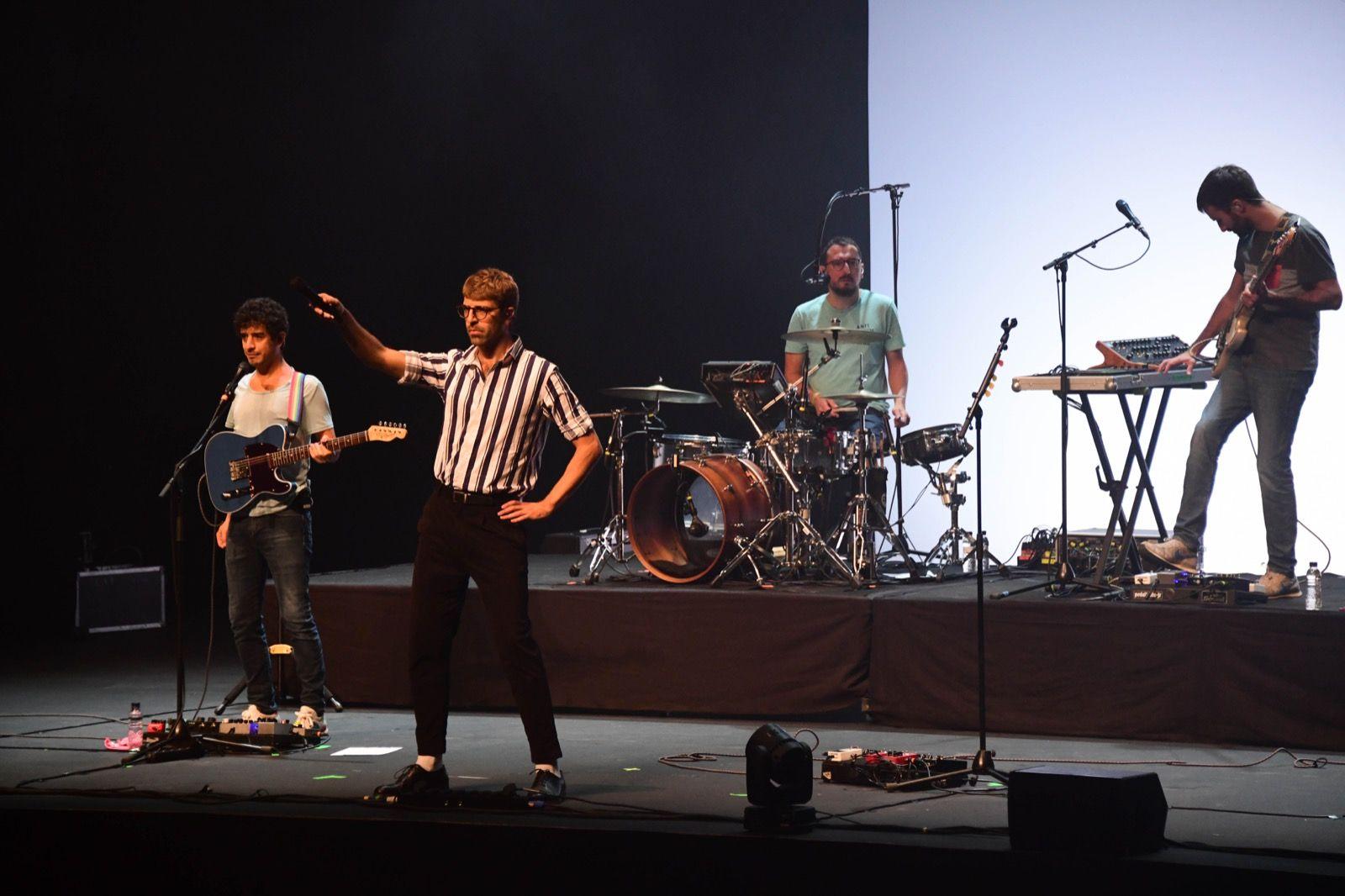 Manel al festival Petits Camaleons. Foto: Jordi Garcia