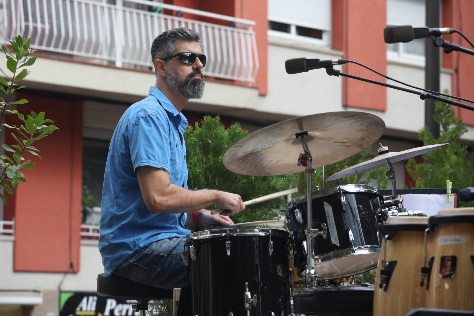 Concert de l'Aula Jazz Orquestra. FOTO: Jordi García