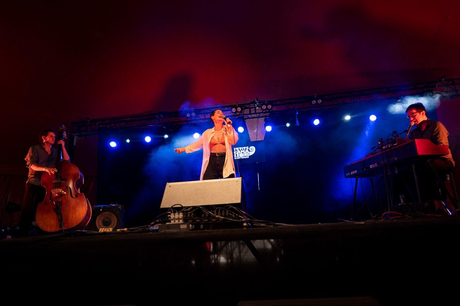 Clara Gispert al festival Petits Camaleons. Foto: Raul Clemente