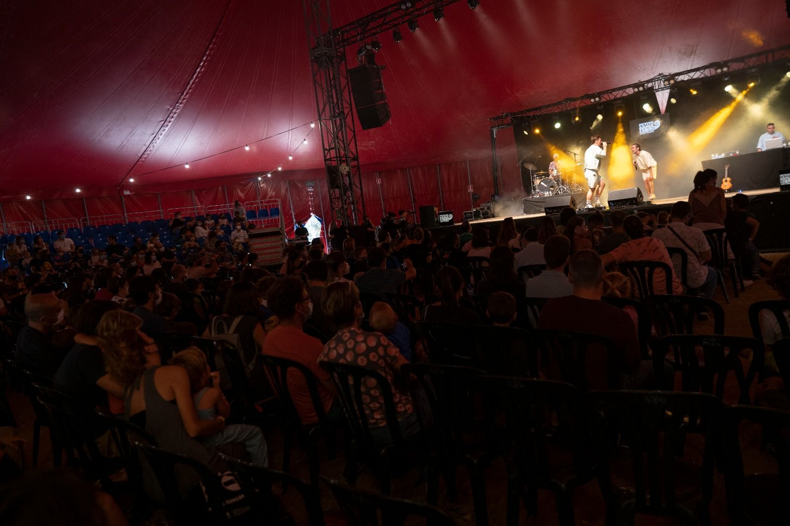 The Tyets al festival Petits Camaleons. Foto: Raul Clemente